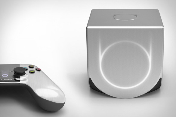 ouya console and controls